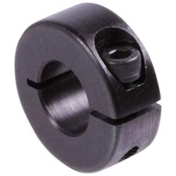 aus Stahl C45 D = 25mm geschlitzt Klemmringe brüniert