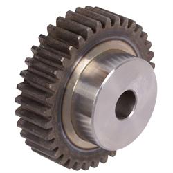 Qualität 8-9 43 Zähne  1 Stück Stirnzahnrad Stahl C45 Modul 2.5